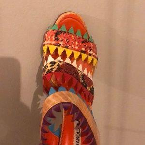 Manolo Blahnik Snakeskin Heels